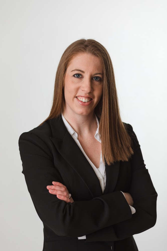 Cristina M. Buskohl, attorney at the law firm of Mertes & Mertes, P.C.